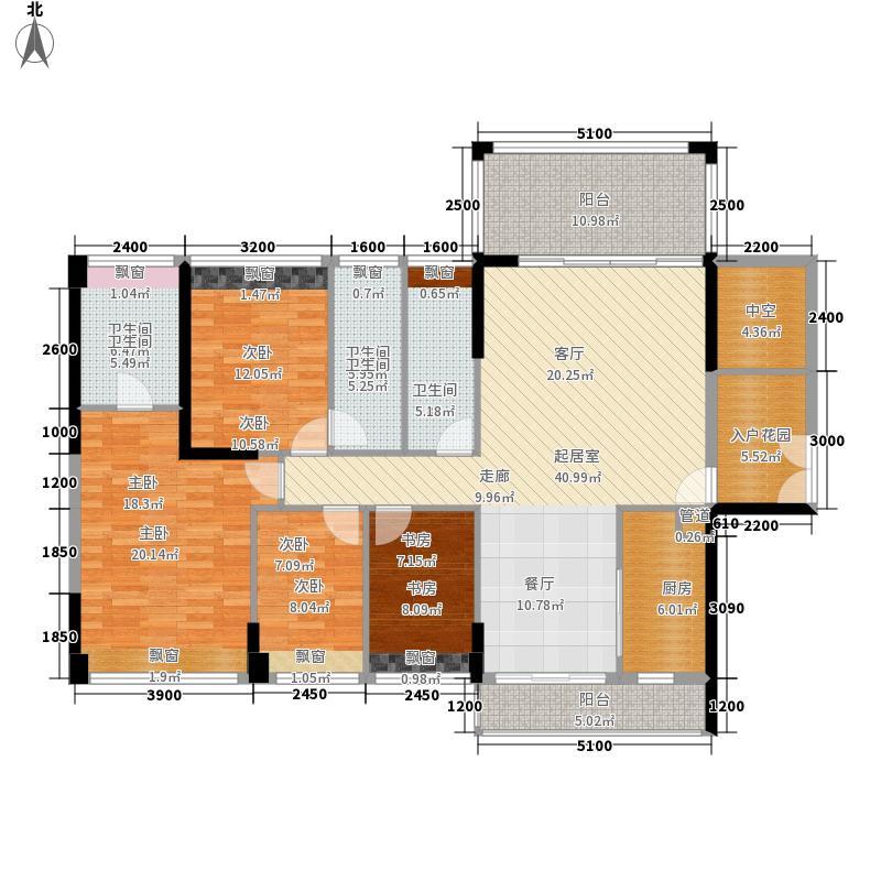 金凤皇庭136.00㎡A1/A2/B/C1/C2栋03户型