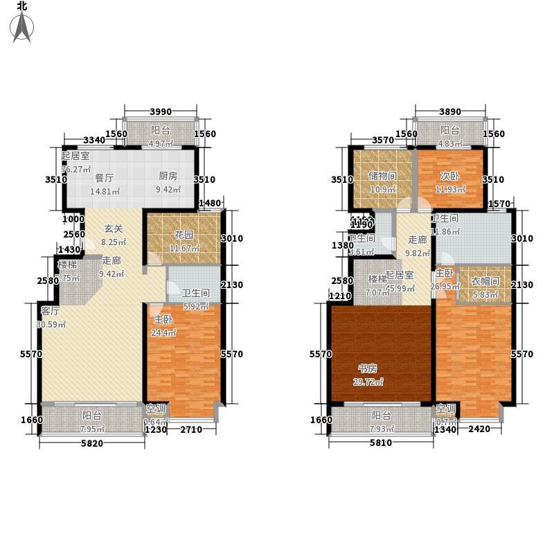 上东领海291.33㎡上东领海户型图五室三厅三卫(1/15张)户型10室
