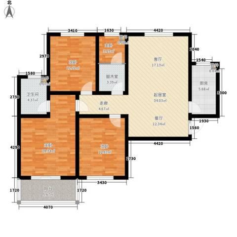天洲沁园4室0厅1卫1厨115.00㎡户型图