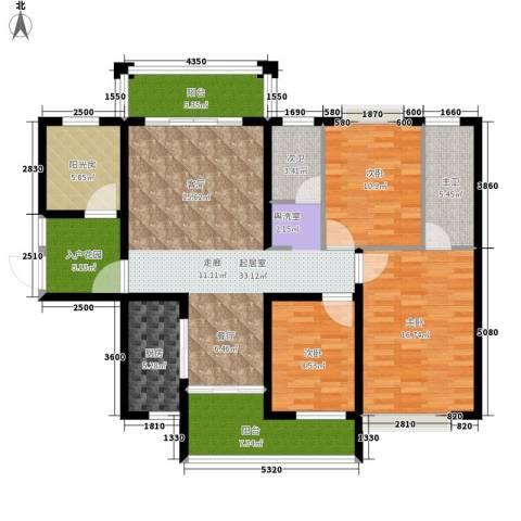 格澜郡3室0厅0卫1厨131.00㎡户型图