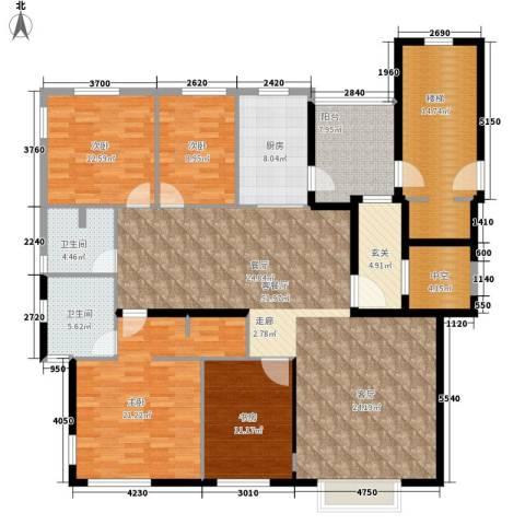 双维花溪湾4室1厅2卫1厨160.00㎡户型图