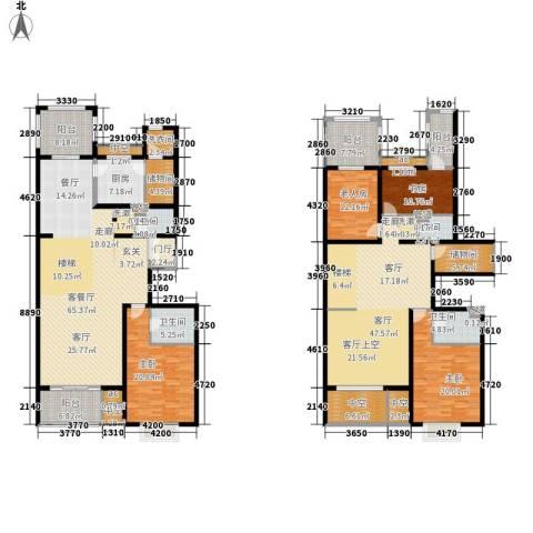 龙熙半岛4室2厅4卫1厨362.00㎡户型图