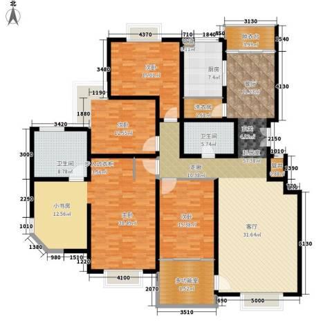 曲江兰亭4室0厅2卫1厨200.00㎡户型图