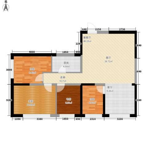 高科尚都4室1厅0卫1厨108.00㎡户型图