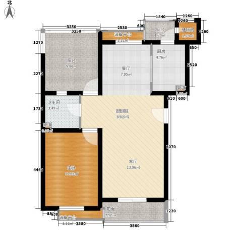 景福花园(横沥)1室0厅1卫1厨102.00㎡户型图