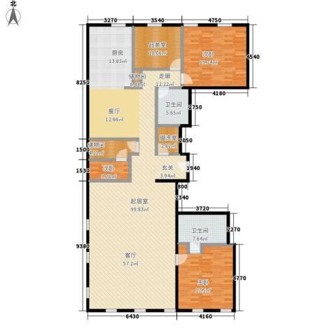 万国城moma3室0厅2卫0厨231.00㎡户型图