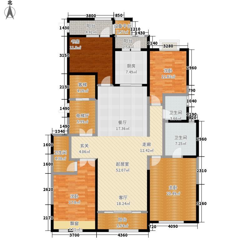 富力华庭户型图C1、C2号楼(3/8张)