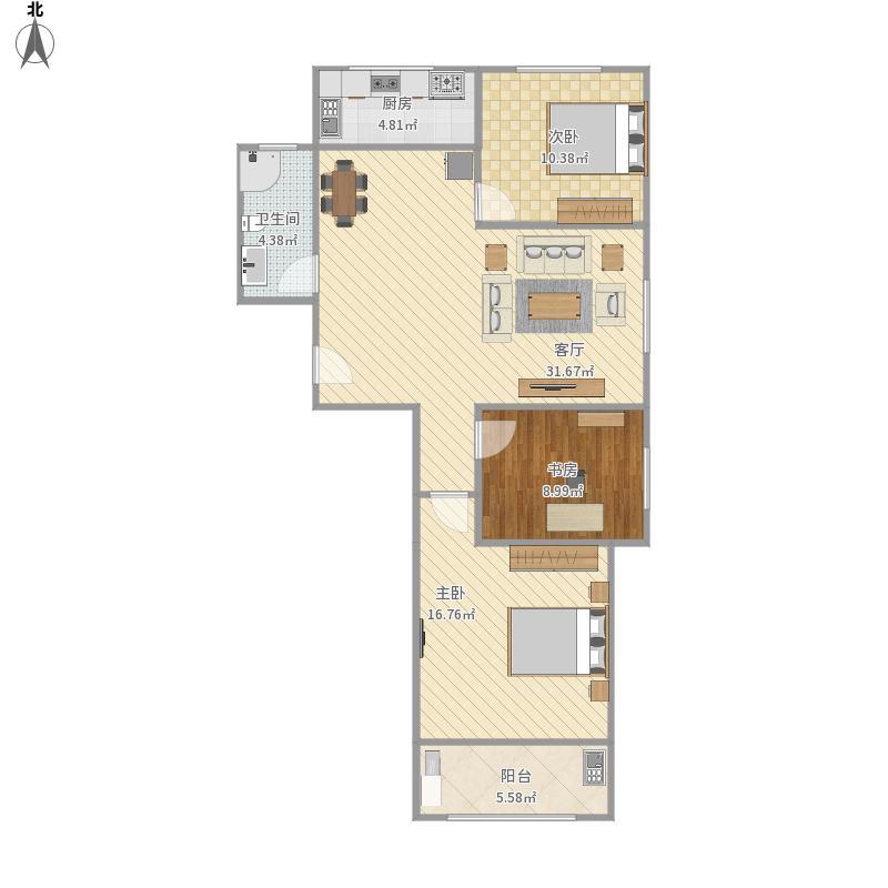 117三室两厅