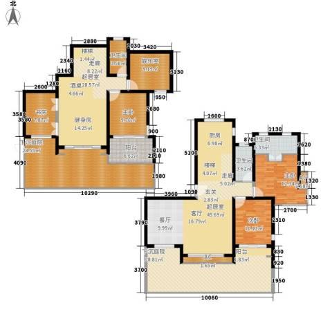 翠屏紫气钟山4室0厅3卫0厨228.00㎡户型图