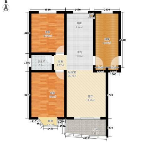 龙凤花园2室0厅1卫0厨126.00㎡户型图