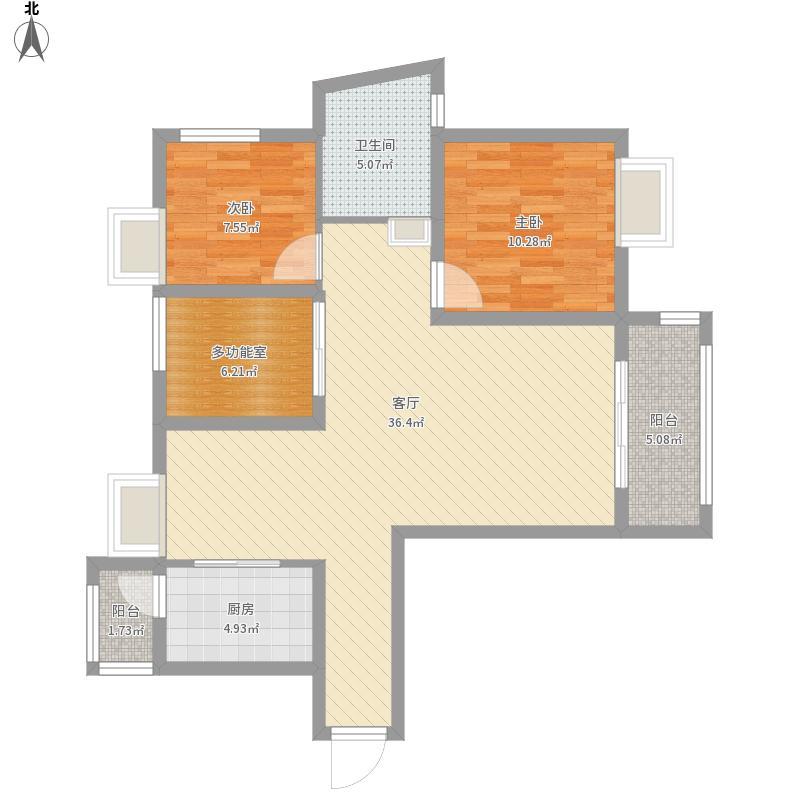 城中金谷三室两厅一卫02