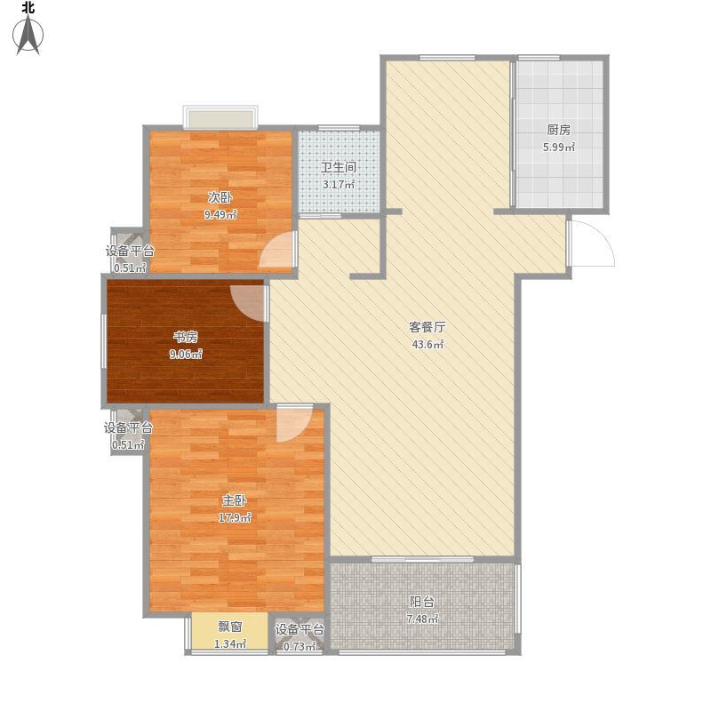 东方世纪城房型图