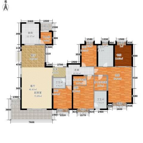 紫薇永和坊5室0厅3卫1厨282.00㎡户型图