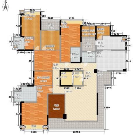 保利云禧4室0厅4卫1厨335.00㎡户型图