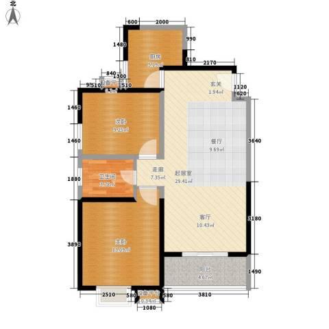 210所2室0厅1卫1厨65.91㎡户型图