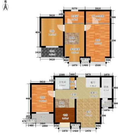 富源城3室1厅2卫0厨166.00㎡户型图