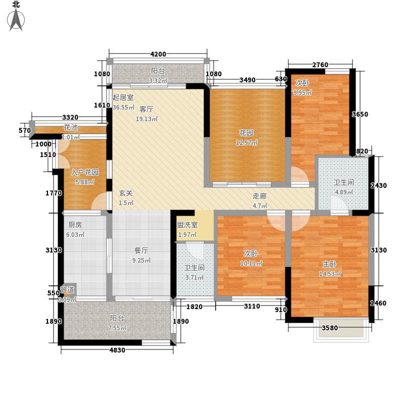 保利云山国际户型图2室2厅1卫(32/49张)
