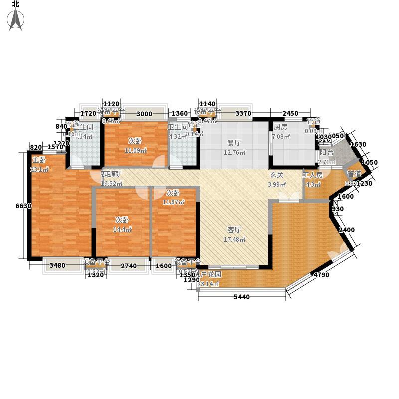 中海金沙湾187.16㎡B3栋5-2704单面积18716m户型