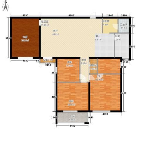 学林雅苑4室0厅2卫0厨197.00㎡户型图
