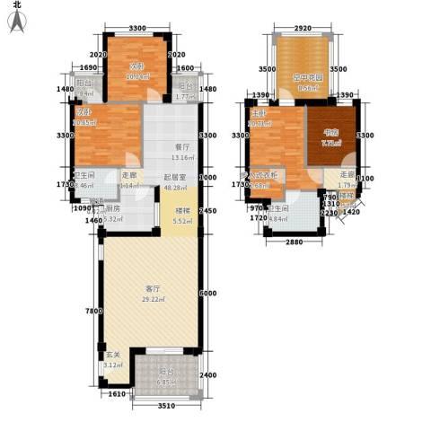 兰桥尚舍4室0厅2卫1厨144.34㎡户型图