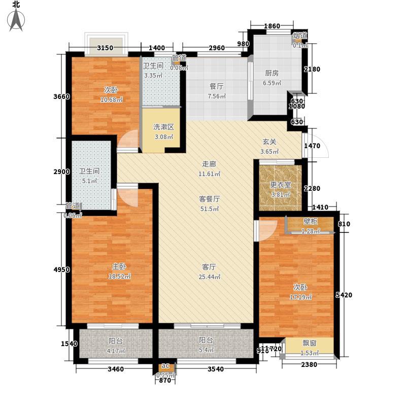 联城·海岸锦城147.00㎡K户型3室2厅