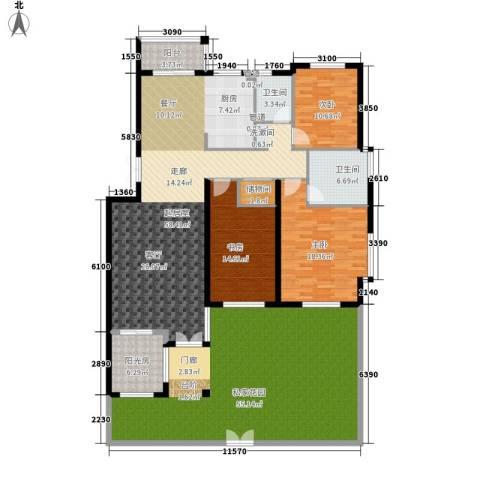 建龙第一城3室0厅2卫0厨247.00㎡户型图