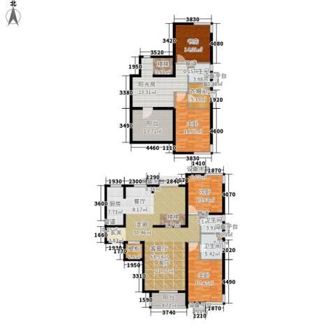 富源城4室1厅3卫0厨224.00㎡户型图