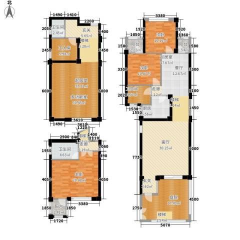兰桥尚舍3室0厅3卫1厨200.17㎡户型图