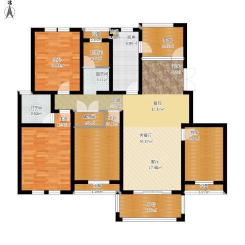仙龙湾山庄4室1厅2卫1厨177.00㎡户型图