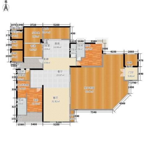 凯旋门2室0厅4卫0厨362.00㎡户型图