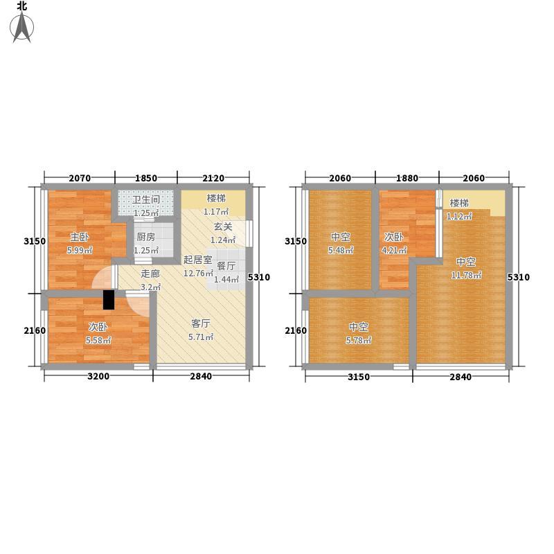 芒果公寓63.90㎡2005~20073005面积6390m户型