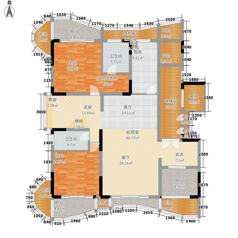 大学城馨园262.50㎡A1栋01单元(1面积26250m户型