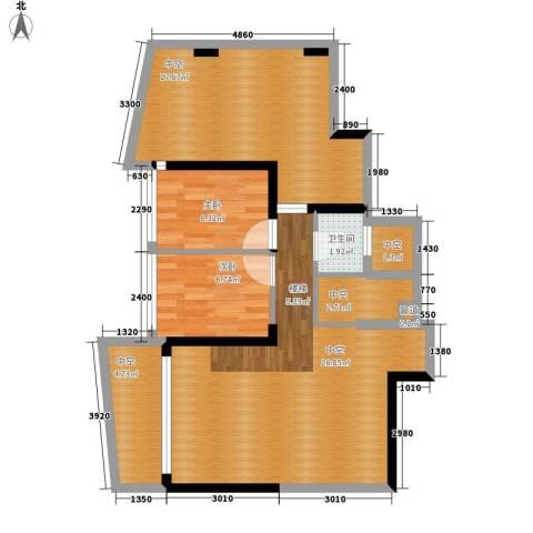 大学印象2室0厅1卫0厨99.00㎡户型图