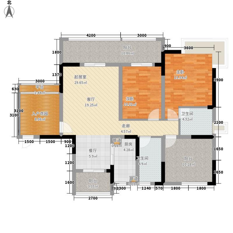 慕和南道112.71㎡10号楼面积11271m户型