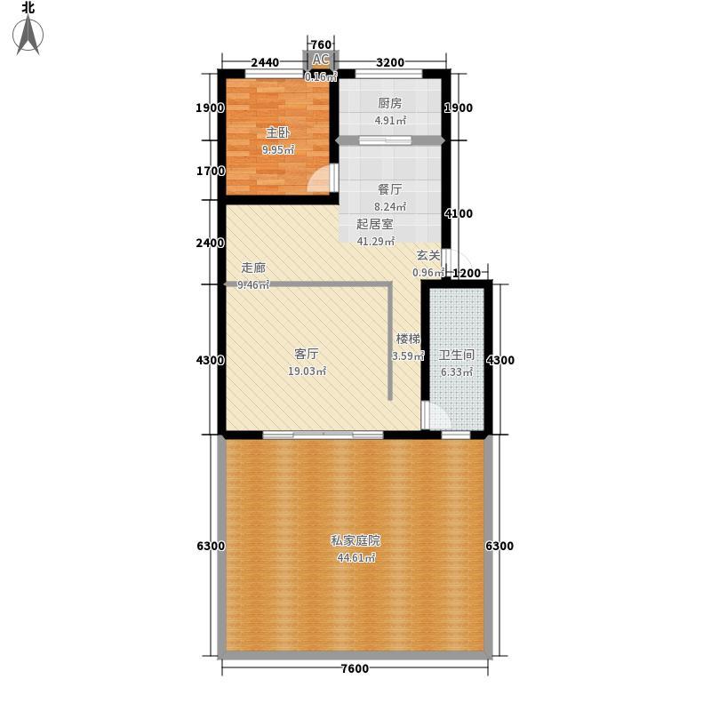 红锦水榭香堤158.20㎡B幢楼A面积15820m户型