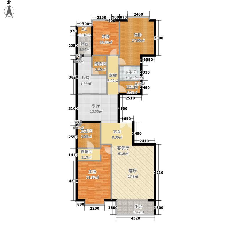 富力爱丁堡国际公寓192.65㎡面积19265m户型
