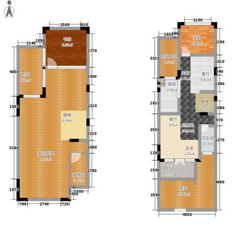 美的林城时代2室0厅1卫1厨138.00㎡户型图