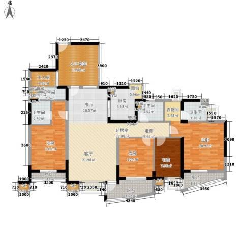 金基蓝钻4室0厅4卫1厨176.00㎡户型图