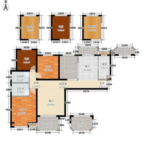 吉祥小区4室0厅2卫1厨146.88㎡户型图