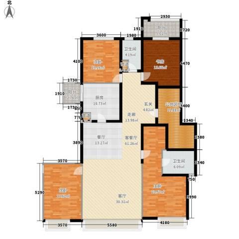 水半湾4室1厅2卫1厨217.00㎡户型图