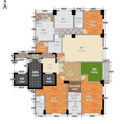 桥机嘉园3室1厅3卫0厨315.00㎡户型图