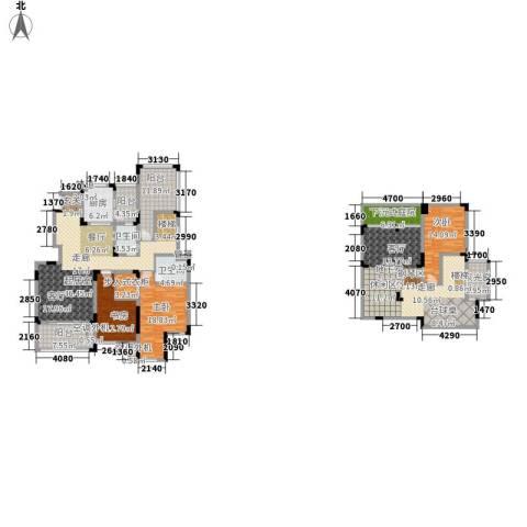 香漫溪岸3室0厅2卫1厨207.00㎡户型图