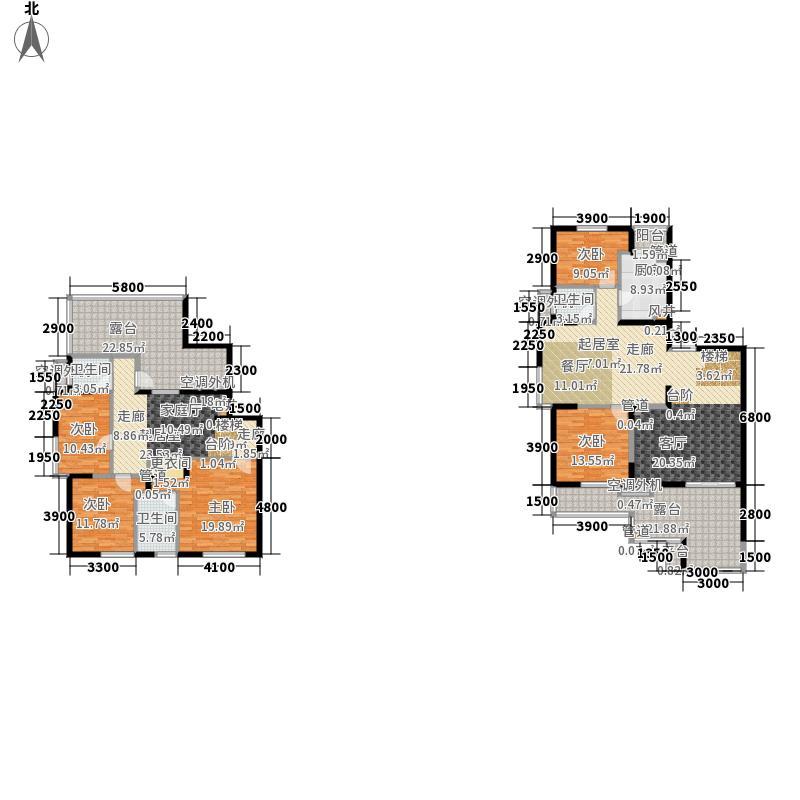 中兴和园中兴和园户型图3#B单元-01-F2户型(11/24张)户型5室2厅4卫