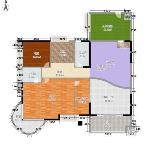 瑞安花园2室0厅2卫0厨267.00㎡户型图