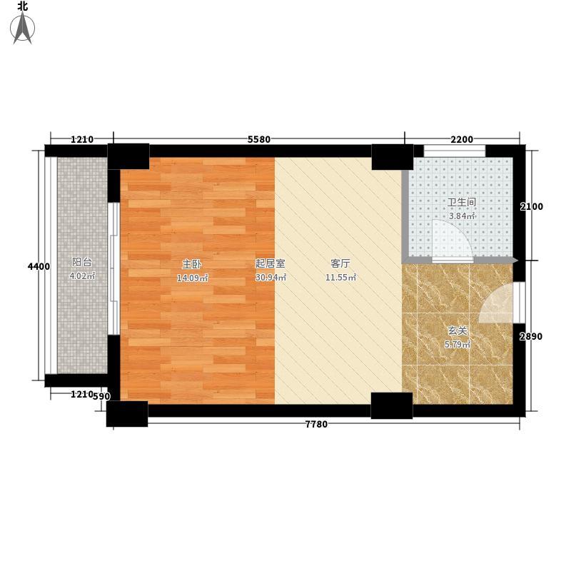 金桥凤凰华庭公寓A户型