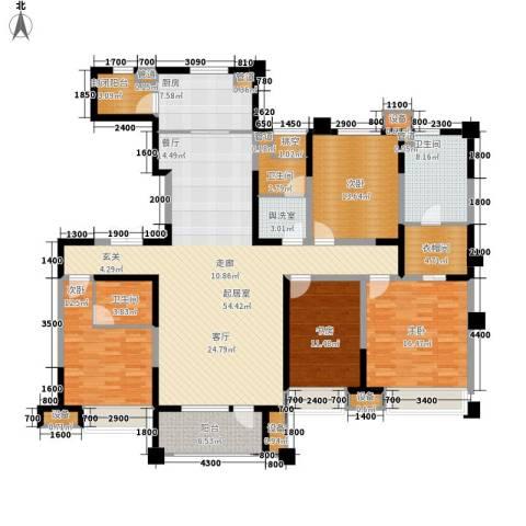中海凯旋门4室0厅3卫1厨203.00㎡户型图