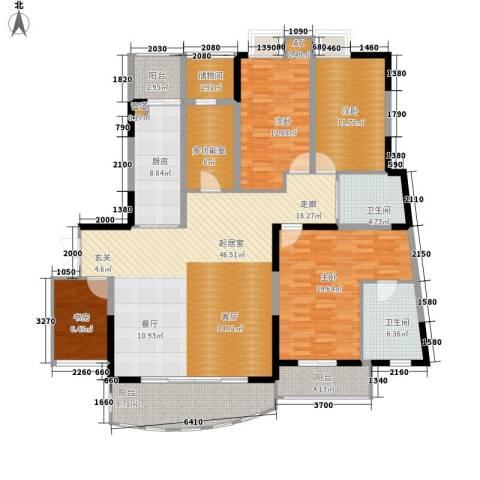 嘉年华国际社区4室0厅2卫1厨160.00㎡户型图