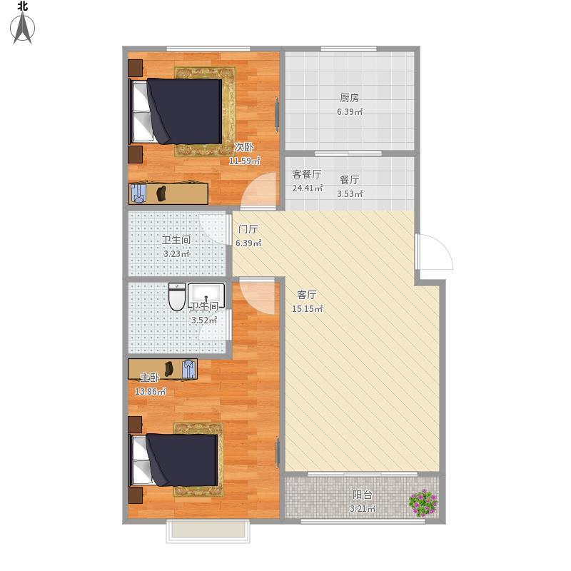 106两室两厅