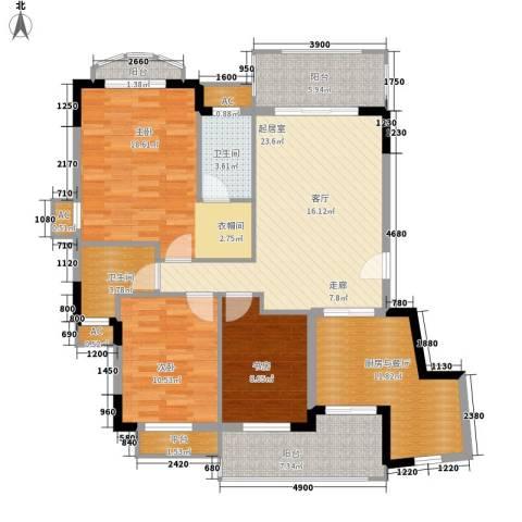 星河湾畅心园3室0厅2卫0厨126.00㎡户型图
