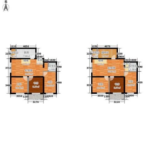 嘉美广场6室0厅2卫1厨197.00㎡户型图